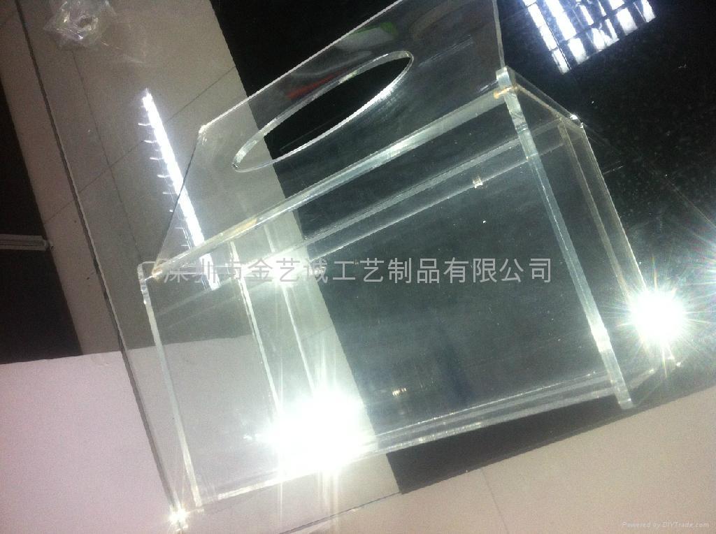 亚克力透明纸巾盒 1