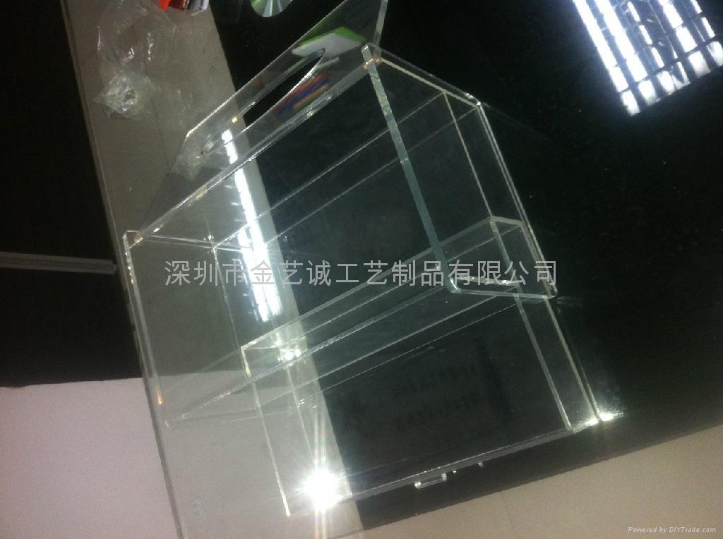 亚克力透明纸巾盒 3