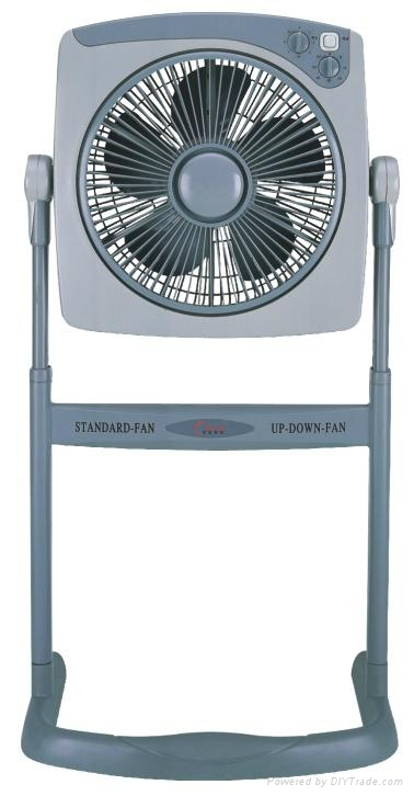 12 inch box fan with stand/stand fan   1