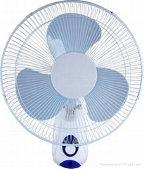 16 inch colored wall mounted fan/oscillating fan