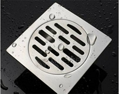 pop-up floor drain