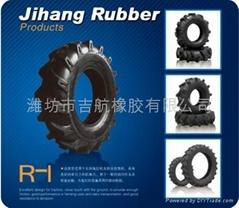 吉航橡胶R-1人字型拖拉机轮胎