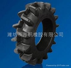 吉航橡胶供应R-2深层人字型农业轮胎
