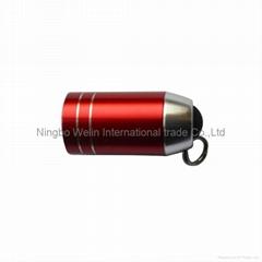 mini plastic rechargeable led usb