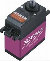 XQ-POWER XQ-RS413 ROBOTIC SERVO with titanium gear single output shaft 180 degre