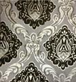 Jacquard velvet with bonding
