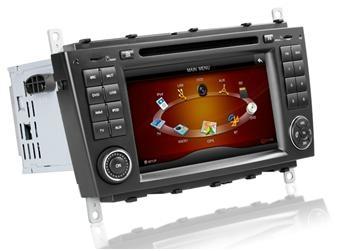 7'' HD Touchscreen Car DVD player for Mercedes Benz W203/W209 2