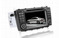 7'' HD Touchscreen Car DVD player for Mercedes Benz W203/W209 3