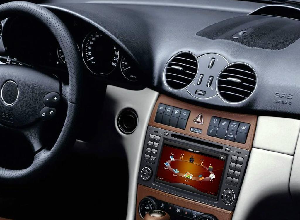 7'' HD Touchscreen Car DVD player for Mercedes Benz W203/W209 4