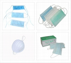 Hygienic Surgical Non woven Face Mask