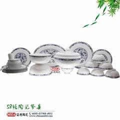 供应景德镇陶瓷餐具批发厂家
