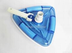 Deluxe Vacuum head swimming pool cleaning equipment