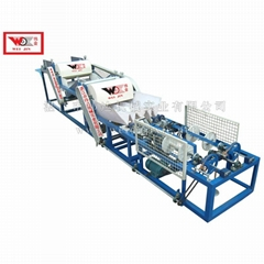 Short Fiber Rope Making Machine