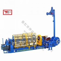 Constant ingot rope machine