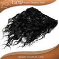 clip on human hair extensions 5pcs-10pcs