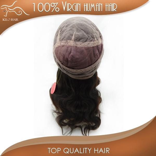 full lace wig body wave 100% original brazilian human hair extensions 1