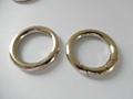 【专业生产】锌合金圆圈扣 箱包