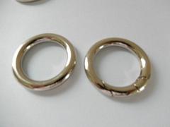 【專業生產】鋅合金圓圈扣 箱包手袋圓環扣 合金扁圓圈 優質環保