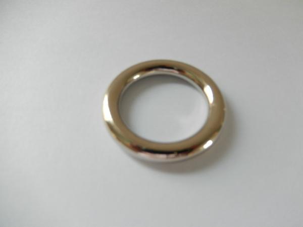 【专业生产】锌合金圆圈扣 箱包手袋圆环扣 合金扁圆圈 优质环保 4
