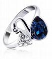 厂家专门订制精美戒指 高端时尚