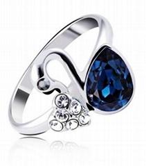 廠家專門訂製精美戒指 高端時尚 款式多樣