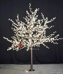 Warm white Led Cherry tree lighting, LED Acrylic cherry tree