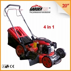 "20"" 4-in-1 196cc/159cc self propelled Lawn Mower"