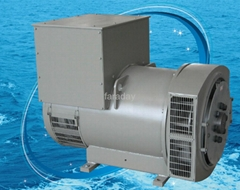 Synchronous AC brushless alternator/generator with 100% copper wire