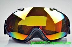 Customized logo CE certificate ski goggle