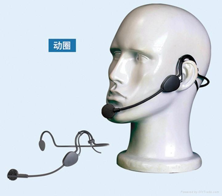 Popular Big Dynamic Mic Headset Microphone ME3 for Sennherser/Shure/AKG Bodypack 3