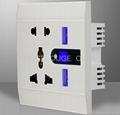 USB Wall Socket with LED light  3