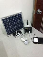 10w-7AH portable DC solar system/ 120w output 12v solar power system