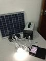10w-7AH portable DC solar system/ 120w output 12v solar power system 2