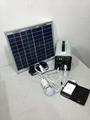 10w-7AH portable DC solar system/ 120w output 12v solar power system 4