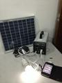 10w-7AH portable DC solar system/ 120w output 12v solar power system 5