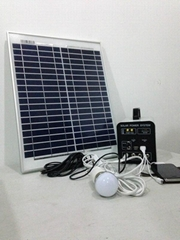 15W-9AH portable DC solar home system