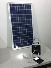 40w-24AH AC&DC solar home systems