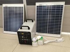 50w-24AH AC&DC solar home system