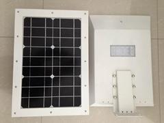 10w integrated solar led street light