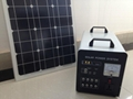80w-40AH AC&DC solar home systems/80w solar panel input/500w inverter output  2