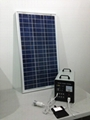 80w-40AH AC&DC solar home systems/80w solar panel input/500w inverter output  3