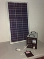 80w-40AH AC&DC solar home systems/80w solar panel input/500w inverter output  5