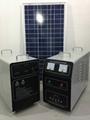 200w-120AH AC&DC solar home system 4