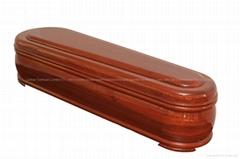 Spanish Style-Wood Coffin