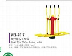 單柱雙人平步機