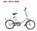 lithium battery folding e-bike CB-20F01