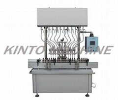 Automatic filling machine for water,wine,soy sauce