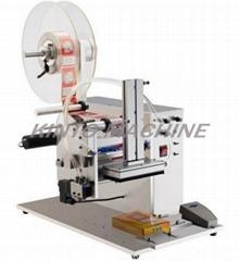 Semi-auto plane/top/flat labeling machine