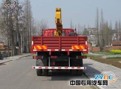 福田牌8-10吨徐工随车起重运输车 2