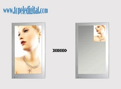 26inch indoor wall-mounted magic mirror LCD advertising player for bathroom